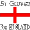 St George for ENGLAND