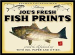 Joe's fish prints