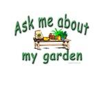 Gardeners Love To Talk About Their Garden