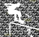 Skateboarder - Distressed Chasm background