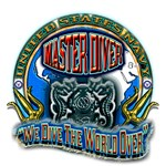 US Navy Master Diver