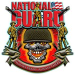 US Army National Guard Skull