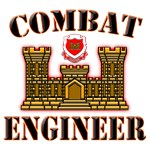 US Army Combat Engineer Gold
