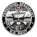 USN Personnel Specialist Skull PS