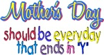 Mother's Day - ends in