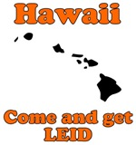 Hawaii - Come and Get Leid State T-Shirt