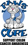 Paws For The Cure Colon Cancer Cat