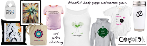 Blissful Body Yoga Clothing and Gifts