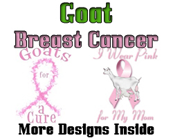 Goat-Breast Cancer Wear Pink