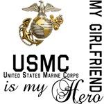 USMC My Girlfriend MY Hero