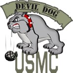 USMC Marine Devil Dog