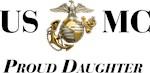 USMC Proud Daughter