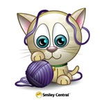 Kitty with Yarn
