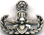United States Armed Forces EOD Silver 'Crab' Logo