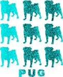 Turquoise Puggies