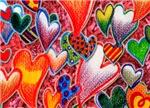 Pencil Hearts