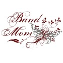 Band Mom Maroon & Grey