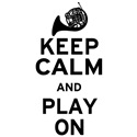 Keep Calm French Horn