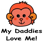 My Daddies Love Me (Monkey) Baby Wear & Gifts