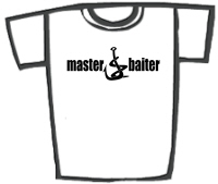 Master Baiter Funny Fishing T-Shirts etc