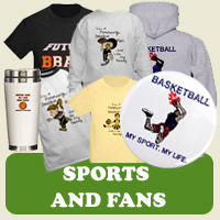 Sports and Fan: Tees, Gifts & Apparel