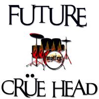 Future Crue Head Graphic Tees