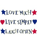 Love Much Live Simply Graphic Tees And More