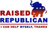 Raised Republican Shirt