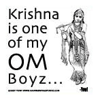 Krishna Is One Of My Om Boyz