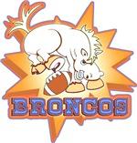 Broncos Football Mascot