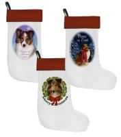 Sheltie Christmas Stockings
