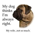 Bullmastiff V. Wife