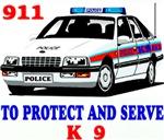 POLICE CAR K9