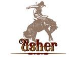 Usher Western T-Shirts