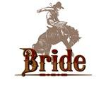 Bride Western T-Shirts