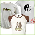 Bride and Groom T-Shirts