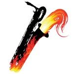 Hot Baritone Sax