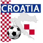 Croatia Soccer T-Shirts and Gifts