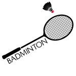 Badminton Racquet T-Shirts
