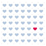 Little Blue Hearts T-Shirts