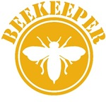 Beekeper Stencil T-Shirts and Gifts