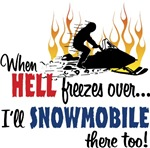 Snowmobiling Hell