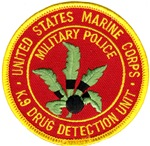 Marine Corps K9 Drug Detection