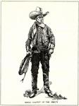 1920s Movie Cowboy