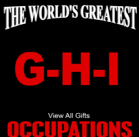 The World's Greatest Occupations G-H-I