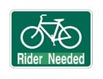 rider needed