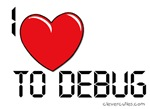 I Love To Debug