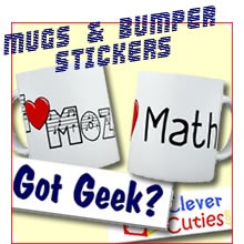 Bumper Stickers and Mugs