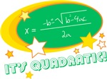 It's Quadratic
