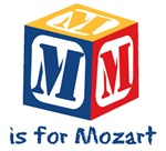 M is for Mozart